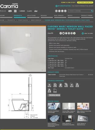 gwa kitchens and bathrooms new caroma website architectureau
