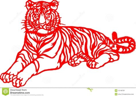 new year tiger zodiac zodiac of tiger year stock image image 12148781