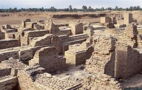giardini pensili di babilonia foto rovine di babilonia
