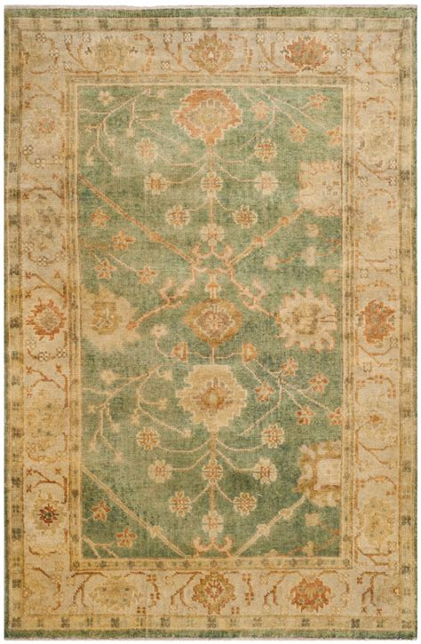 Safavieh Carpets by Rug Osh117a Oushak Area Rugs By Safavieh