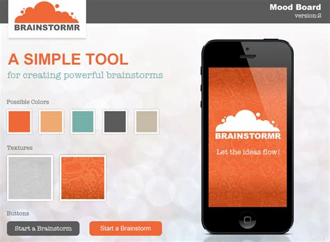 home design board app design processes for brainstormr mobile our new iphone