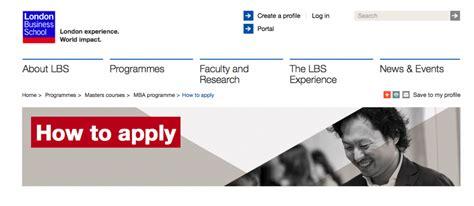 Mba Lbs Apply by 勝手に Mba 出願の Tips ロンドンビジネススクール日本人在校生サイト Lbs Mba