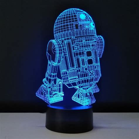 star wars kids desk novelty 3d night light led bedside l table desk le