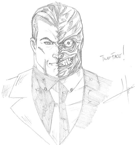 two face sketches from batman arkham city free hd wallpapers