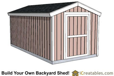 8x16 Shed Plans by Backyard Shed Plans Backyard Storage And Shed Plans