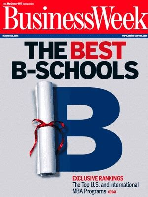 Of Chicago Mba Program Ranking by Businessweek S 2012 Business School Ranking