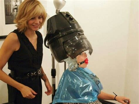 forced feminine haircuts in the beauty salon 20 best bondage hairdresser images on pinterest a well