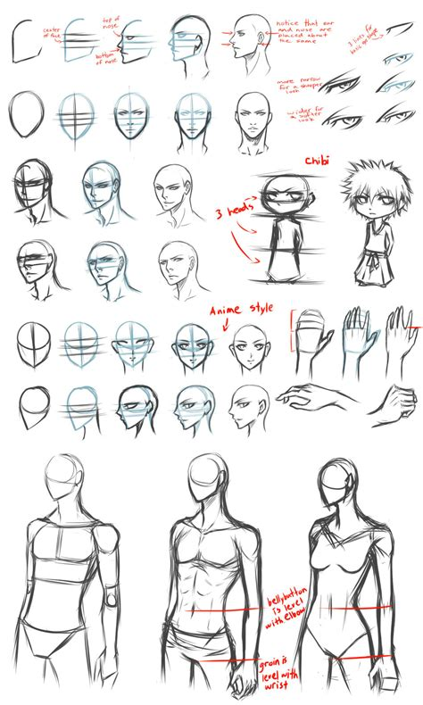 Sketches Help by Basic Drawing Tips By Destatidreamxiii Deviantart