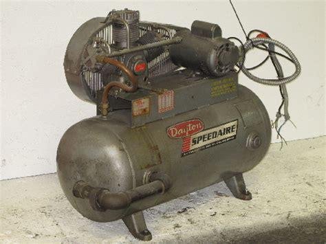 dayton speedaire 3z581 air compressor 3 hp ebay