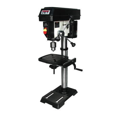 jet bench drill press jet 1 2 hp 12 in benchtop drill press variable speed