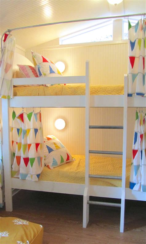curtain for bunk bed i love the idea of bunk bed curtains on regular bunk beds