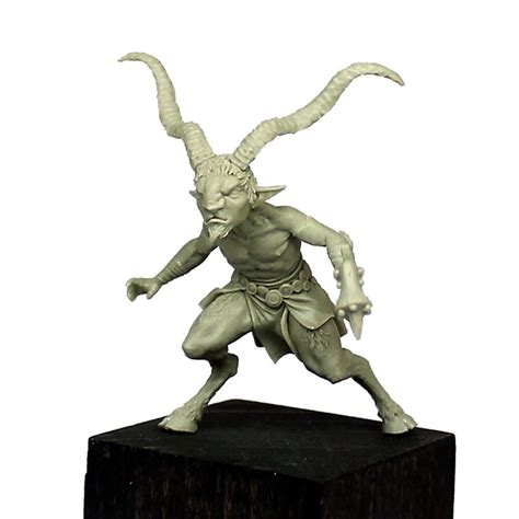 SATRYAS the faun - BLACKSMITH MINIATURES Empty Box Weight