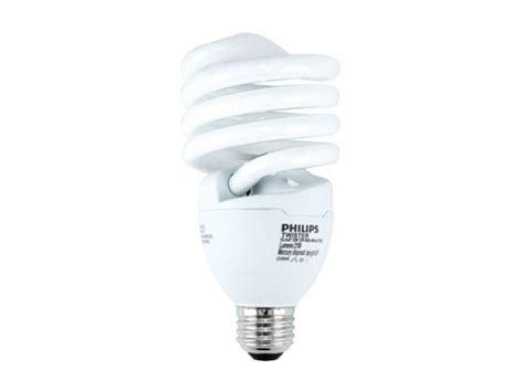 Lu Philips Spiral 8 Watt philips 125 watt incandescent equivalent 32 watt 120 volt warm white spiral cfl bulb el mdt
