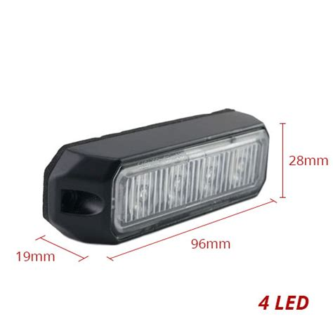 small led strobe lights strobe light 4 led 12 24v 1w small singtech