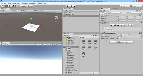 imagenes en unity 3d creaci 243 n y configuraci 243 n de un terreno en unity 3d