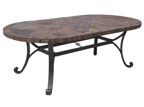 Wrought Iron Dining Table Bases Paragon Casual Carlisa Wrought Iron 84 X 44 Dining Table Base F31184