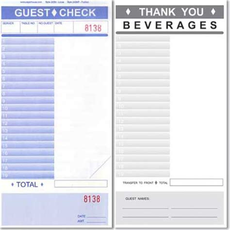 restaurant receipt template blank restaurant receipts quotes