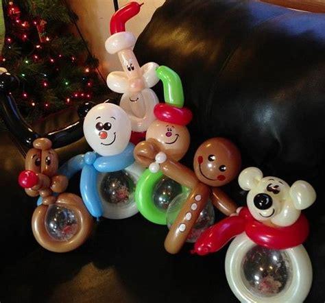 como hacer un pino de globos navidad globos decoracion 11 imagenes educativas