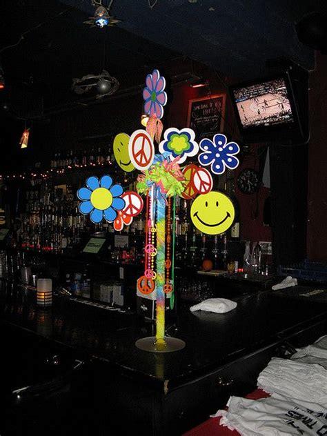 hippie theme decorations 60 s theme hippy centerpiece by the prop factory via