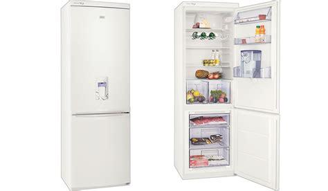Water Dispenser Zanussi zanussi zrb834nw fridge freezer white buy today 365 electrical