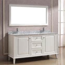 White Vanity Traditional Bathroom Vanities