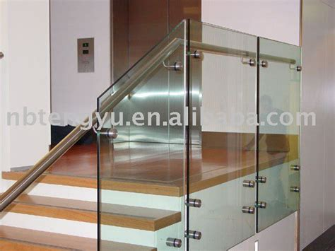 glass banister cost staircase glass railing