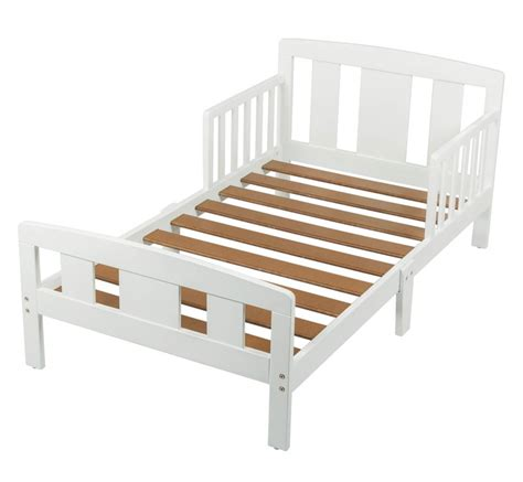 toddler bed white childcare hudson toddler bed white baby bunting