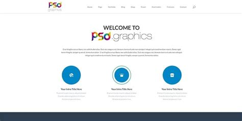 Free Corporate And Business Web Templates Psd Free Professional Business Website Templates