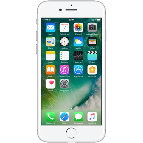 apple iphone    argent mobile smartphone apple sur ldlccom
