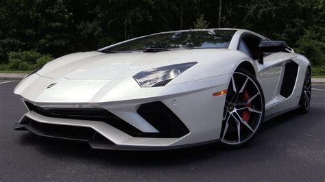 Lamborghini Start by 2017 Lamborghini Aventador S Start Up Road Test In