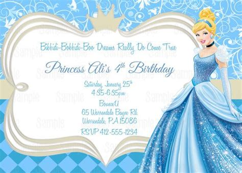 cinderella invitation to the template 25 best ideas about cinderella invitations on