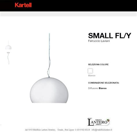illuminazione kartell illuminazione kartell lada a sospensione fly small led