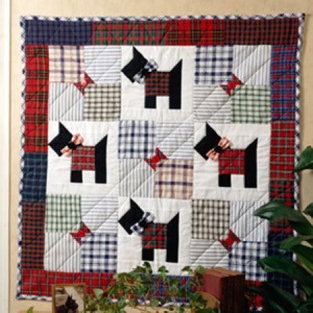 Scottie Quilt Pattern by Scottie Dogs Quilting Epattern Leisurearts