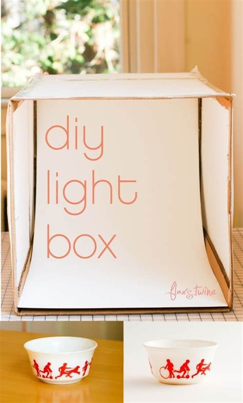 diy photography projects diy photo light box a finish fifty project flax twine