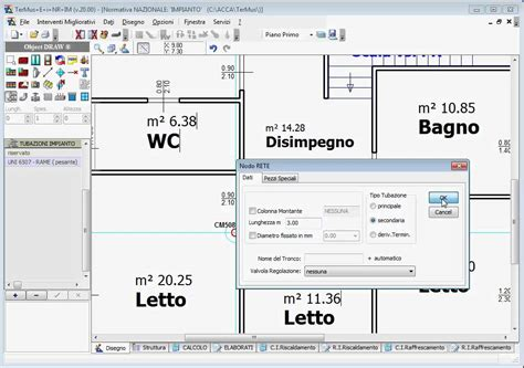 progetto riscaldamento a pavimento acca software termus i progettazione impianti di