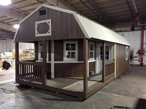Turning A Shed Into A House by This Playhouse Got A Grown Up Makeover