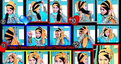 tutorial hijab pesta dan wisuda by didowardah tutorial jilbab untuk hijaber indonesia tutorial hijab