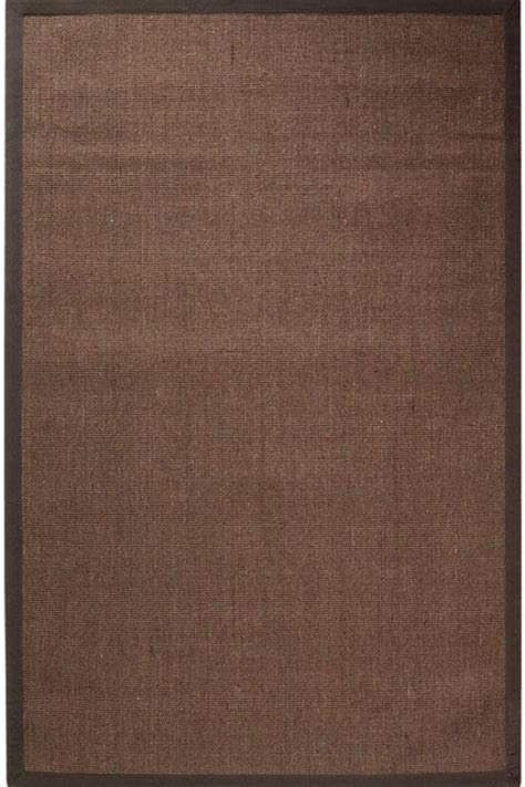 brown sisal rug amherst sisal area rug 6 octagon chocolate brown rugs catalog with images the home