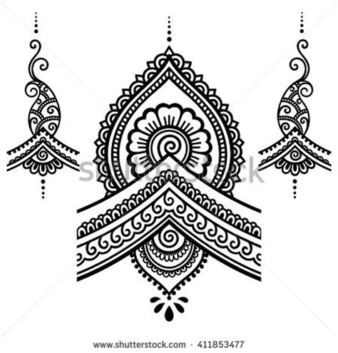henna design templates henna stock photos images pictures