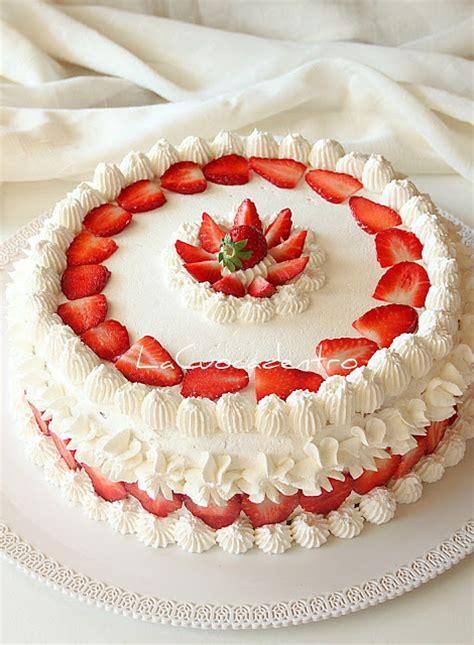 bagna per torte alla fragola torta sospiro alle fragole