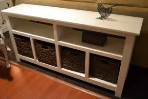 Diy Sofa Table Diy Sofa Table Project This S Crafty