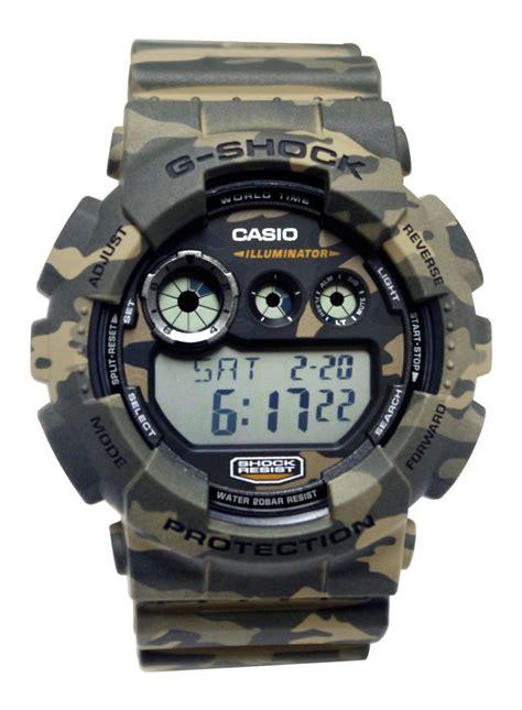 Casio G Shock Gd 120 Brown Army casio gd120cm 5 g shock brown green camouflage digi