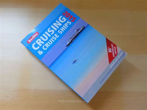 Book Review Anyone But You By Crusie by Berlitz Cruising Cruise Ships Book Review Reasons To