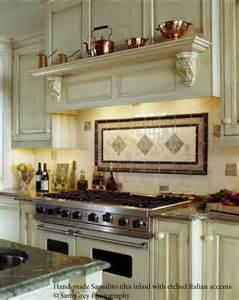 backsplash ideas for the range bronze tile
