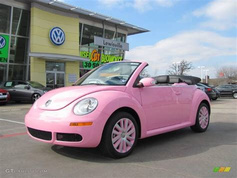 volkswagen new beetle pink 2009 custom pink volkswagen new beetle 2 5 convertible