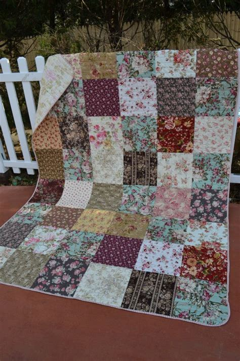 Handmade Fabric Flowers For Sale - 1000 ideas about country quilts on quilt