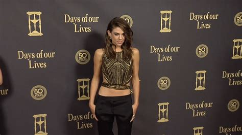 Days Of Our Lives Wardrobe by Kate Mansi Carpet Style At Days Of Our Lives 50 Anniversary