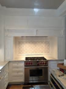 Ceramic Subway Tile Kitchen Backsplash The Glass Smoke Subway Tile Backsplash Is Finally Done Image Of Brown Ceramic Subway Tile