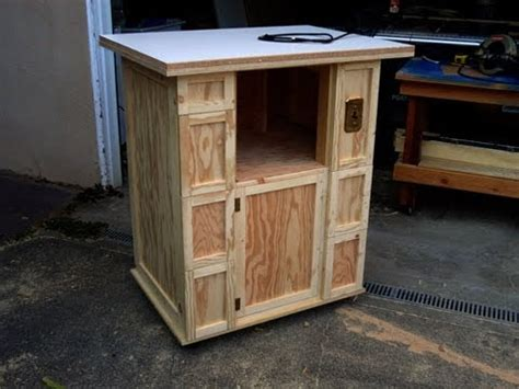 build  router table cabinet youtube