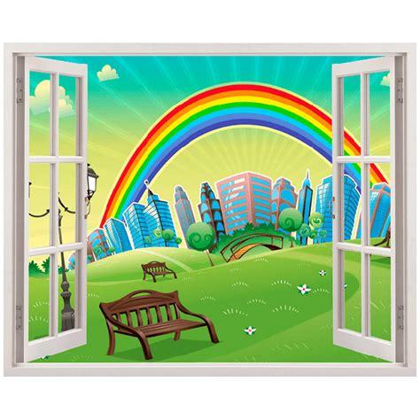 Wandtattoo Kinderzimmer Regenbogen by Regenbogen
